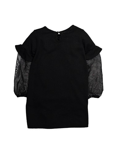 Zeyland Simli Yaldız Baskılı Elbise (5-12yaş) Simli Yaldız Baskılı Elbise (5-12yaş) Siyah
